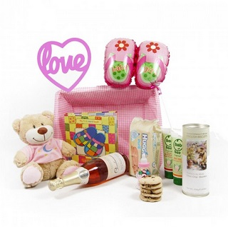 Baby Girl Celebrations Hamper image